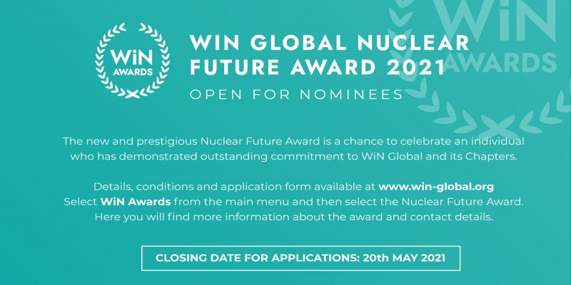 Apply for WiN Global Nuclear Future Award 2021 Thumbnail