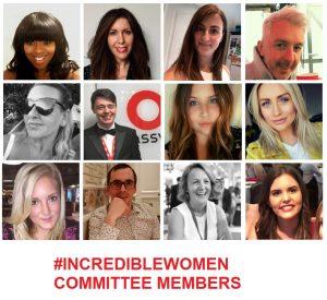 #incrediblewomen committee members montage of photos